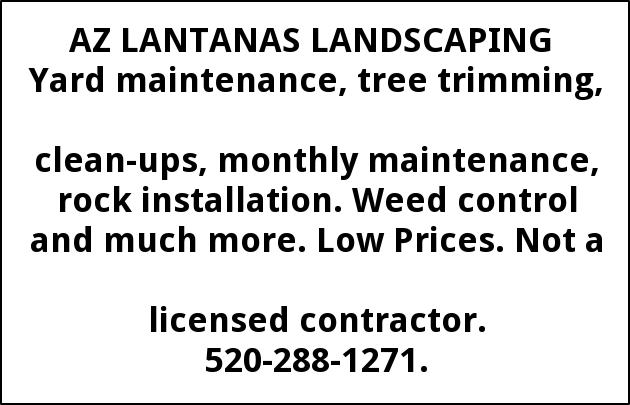 Yard Maintenance, Tree Trimming, Clean-ups, Monthly Maintenance, Rock Installation