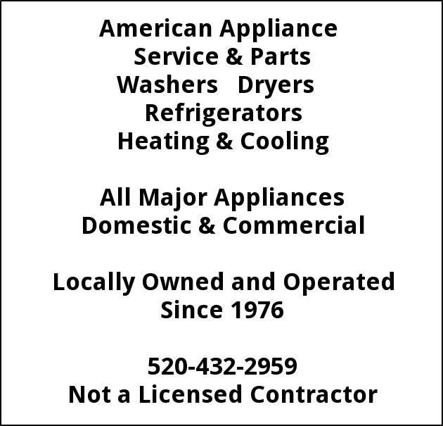 American Appliance Washers & Dryers