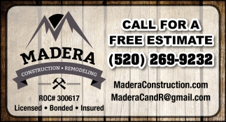 Call for a Free Estimate