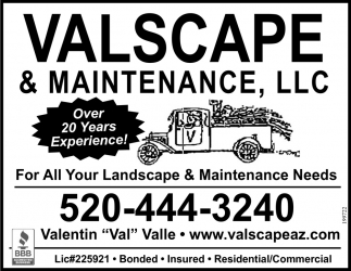 For All Your Landscape & Maintenance Needs