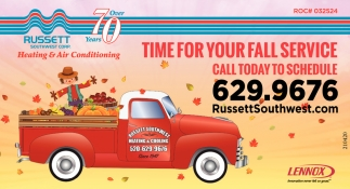 Time for Your Fall Service