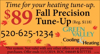 Time for Your Heating Tune-Up